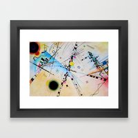 Kandinsky Reimagined  Framed Art Print