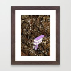 Diagonally 2/2 Framed Art Print