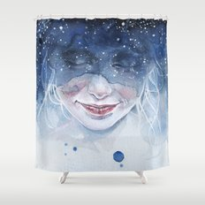 small piece 51 Shower Curtain