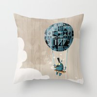 Where Clouds Come From. Throw Pillow