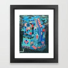 Snake House Framed Art Print