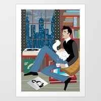 Perfect Rainy Day for Handsome Devil Press Art Print