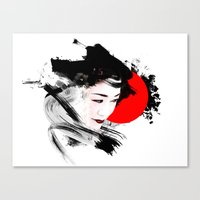 Japan - Kyoto - Geisha Canvas Print