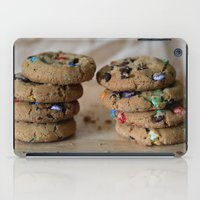 A Balanced Diet Is a Cookie In Each Hand iPad Case