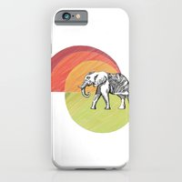 iPhone & iPod Case featuring Elephant... by Clare Corfield Carr