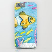Crayon Fish #3 iPhone 6 Slim Case