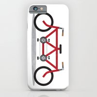 Broken Teamwork Tandem Bicycle iPhone 6 Slim Case