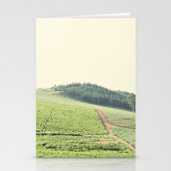 on the hill::uganda Stationery Card