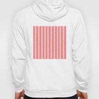 Tribal In Pink & White Hoody