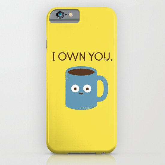 Coffee Talk iPhone & iPod Case