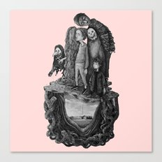 skate famaly Canvas Print