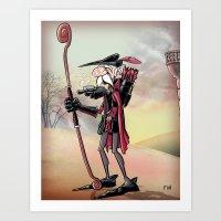 The Venerable Archer Art Print