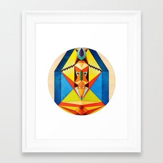 Unu Framed Art Print