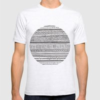 Analogue Mens Fitted Tee Ash Grey SMALL