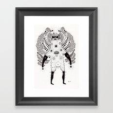 g r o w t h  Framed Art Print
