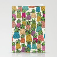 West Coast Pineapples Stationery Cards
