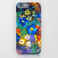 Flora Azul iPhone 6 Slim Case