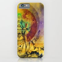 iPhone & iPod Case featuring Brahma dream by leonard zarnescu