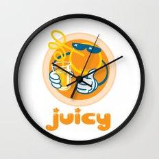 Juicy Orange Wall Clock