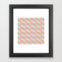 All that pink Framed Art Print