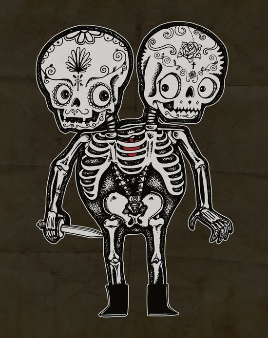 Twinsies Art Print