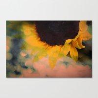 Sunflower II (mini series) Canvas Print