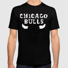 Bulls Bulls Bulls Mens Fitted Tee SMALL Black