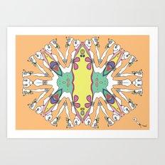Caleidoscópicas [1] Art Print