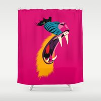 Mandril Shower Curtain
