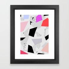 Pattern 017 Framed Art Print