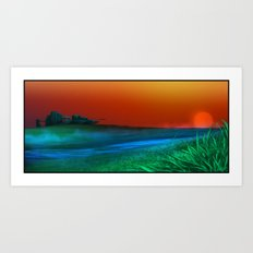 Caladan Meadow Art Print