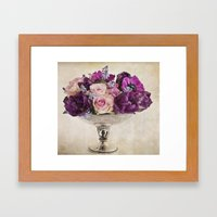 Paint with flowers Framed Art Print