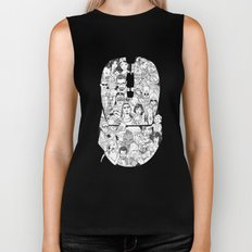 Adulthood Mash-Up Biker Tank