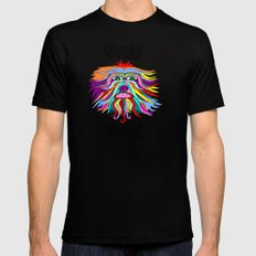 Whacky Wookie 2 Black SMALL Mens Fitted Tee