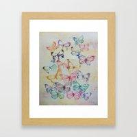 Butterflies II Framed Art Print