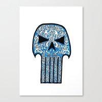 Celtic Punisher Canvas Print