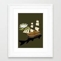 The Wandering dutch. Framed Art Print