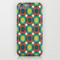 iPhone & iPod Case featuring That Pretty Lady [circles] by Veronica Galbraith