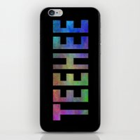 TEEHEE iPhone & iPod Skin