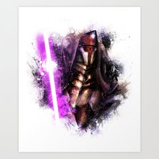 Darth Revan Art Print