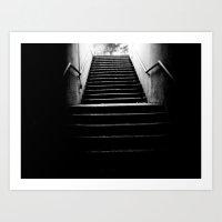 The White Light Art Print