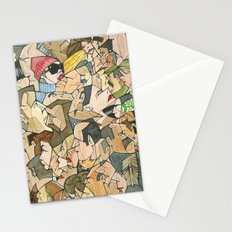 1001 faces Stationery Cards