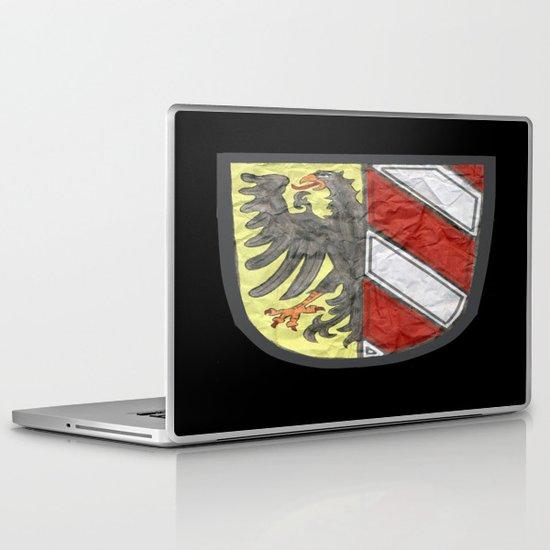 Nuremberger Heraldry Watercolor Laptop & iPad Skin