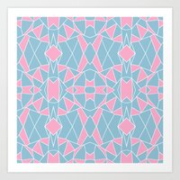 Abstraction Pink #2 Art Print
