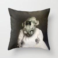 Aleister Throw Pillow