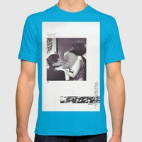 an occasional woman Mens Fitted Tee Teal SMALL
