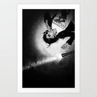 Elevator to heaven Art Print