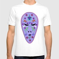 Dream Time Alien Mens Fitted Tee White SMALL