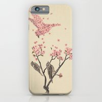 tree iPhone & iPod Cases featuring Blossom Bird  by Terry Fan