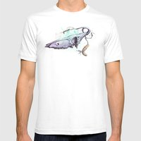 Skullbranch Mens Fitted Tee White SMALL